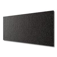 Polyester-Dämmvlies 2400 x 1250 x 10 mm - RG: ca. 50kg/m³ - schwarz