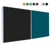 2 Basotect ® G+ Schallabsorber Akustik Schalldämmung je 55x55cm (MIX Set 13)