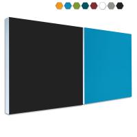 2 Basotect ® G+ Schallabsorber Akustik Schalldämmung je 55x55cm (MIX Set 15)