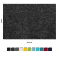 Schallabsorber aus Basotect ® G+ / 4 x Wandbild 82,5x55 cm Akustik Element Schalldämmung (Set 04)