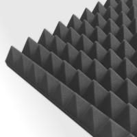 HiTec Akustik Pyramidenschaum 1000 x 500 x 50 mm