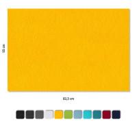 Basotect ® G+ Schallabsorber 4 x Wandbild Akustik Schalldämmung 82,5x55cm (Sonnengelb)