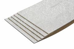 1 Pack mit 10 Bitumenmatten + ALU-Kaschierung - Typ BAX16  / XXL