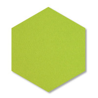 6 Absorber Wabenform aus Basotect ® G+ je 300 x 300 x 30mm Colore HELLGRÜN und NACHTBLAU
