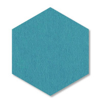 6 Absorber Wabenform aus Basotect ® G+ je 300 x 300 x 30mm Colore PETROL und ANTHRAZIT