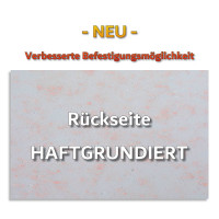 6 Absorber Wabenform aus Basotect ® G+ je 300 x 300 x 70mm Colore BORDEAUX