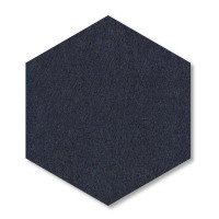 6 Absorber Wabenform Basotect ® G+ je 300 x 300 x 70mm Colore PETROL und NACHTBLAU