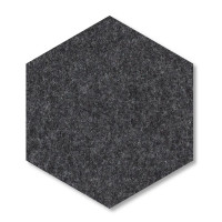 6 Absorber Wabenform Basotect ® G+ je 300 x 300 x 70mm Colore BORDEAUX und ANTHRAZIT