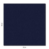 Schallabsorber Colore aus Basotect ® G+ / Akustik Schalldämmung 55x55cm (Nachtblau)