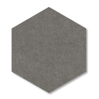 6 Absorber Wabenform aus Basotect ® G+ / Colore PETROL + GRANITGRAU/ je 2 Stück 300 x 300 x 30/50/70mm