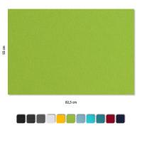 Schallabsorber aus Basotect ® G+ / 4 x Wandbild 82,5x55 cm Akustik Element Schalldämmung (Set 06)