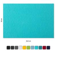 Schallabsorber aus Basotect ® G+ / 4 x Wandbild 82,5x55 cm Akustik Element Schalldämmung (Set 16)
