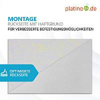 Wandbild Quadrate 4-tlg. Schalldämmung, SCHWARZ - Schallabsorber - Elemente aus Basotect ® G+