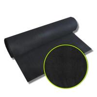 1 lfm Kohlefaservlies mit PU-Beschichtung / Rollenware