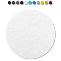 1 Akustik Schallabsorber aus Basotect ® G+ / Kreis 55 cm (Weiß)
