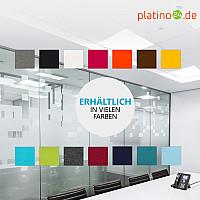 Schallabsorber aus Basotect ® G+ / Regaleinsatz passend z.B. für IKEA KALLAX oder EXPEDIT - Hellgrün