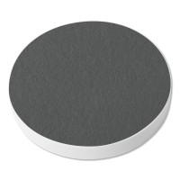 1 Akustik Schallabsorber aus Basotect ® G+ /  Kreis 40 cm (Granitgrau)