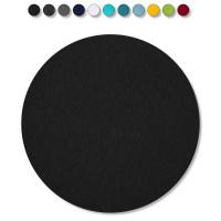 1 Akustik Schallabsorber aus Basotect ® G+ / Kreis 40 cm (Schwarz)