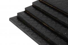 1 Pack mit 10 Bitumenmatten - Typ BX55  / Rohformat