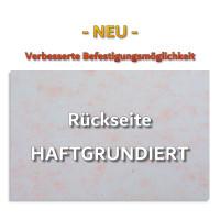 4x Absorbermatte aus Basotect ® B Schallabsorber / 825x550x50mm - WEISS