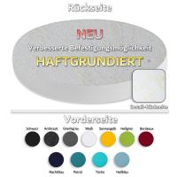 7 Akustik Schallabsorber aus Basotect ® G+ / Kreis Colore-Set Weiß