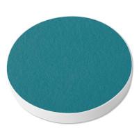 1 Akustik Schallabsorber aus Basotect ® G+ / Kreis 40 cm (Petrol)