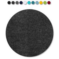1 Akustik Schallabsorber aus Basotect ® G+ /  Kreis 27,5 cm (Anthrazit)